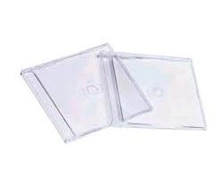 CD-BOX Slim, prozirni