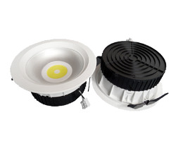 EcoVision LED downlight, 20W, 1370 lm, 4000K, fi226 mm