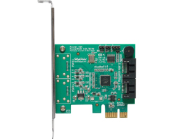 HighPoint RocketRAID RR620 Dual-Port SATA 6Gb/s PCI-E x1 RAID Host Controller, Retail
