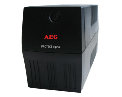 AEG UPS Protect Alpha 800VA/480W, Line-Interactive, AVR, Data line protection, USB