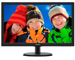 "Philips 22"" 223V5LSB2/10 (21.5"") 16:9 Full HD (1920×1080) LED, 5ms, VGA, crni"