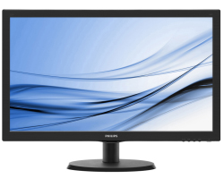 "Philips 22"" 223V5LHSB/00 (21.5"") 16:9 Full HD (1920×1080) LED, 5ms, VGA/HDMI, crni"