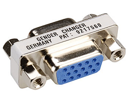 Roline adapter HD15 F/F (mini Gender Changer)