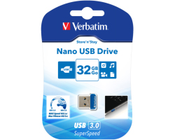 Verbatim USB3.0 Nano Store'n'Stay 32GB
