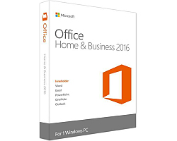 Microsoft Office Home & Bussines 2016 32-bit/x64 Cro, medialess (Word, Excel, Powerpoint, OneNote, Outlook)