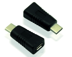 Roline VALUE adapter USB2.0, C(M) na Micro B(F), OTG