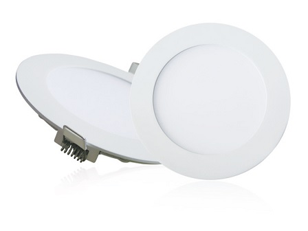 EcoVision LED downlight 9W, 810lm, 3000K, fi 125mm