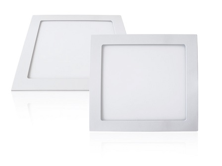 EcoVision LED downlight 18W, 1620lm, 3000K, 200x200mm