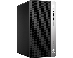 HP ProDesk 400 G4 MT PC, Intel Core i5-7500, 8GB DDR4, 256GB SSD, Intel HD Graphics, DVD+/-RW DL, G-LAN, USB3.1/DP, Windows 10 Professional 64-bit + tipkovnica/miš