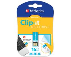 Verbatim USB2.0 Store'n'Go Clip-It 16GB, plavi