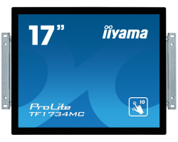 "IIYAMA 17"" ProLite TF1734MC-B1X 5:4 (1280×1024) Projective Capacitive 10P Touchscreen Open Frame LED, 5ms, 225cd/m2, 1000:1, VGA/DVI/USB, crni"