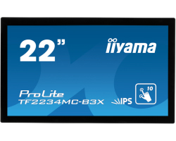 "IIYAMA 22"" ProLite TF2234MC-B3X (21.5"") Full HD Projective Capacitive 10P Touchscreen Open Frame IPS, 8ms, 220cd/m2, 1000:1, VGA/DVI/USB, crni"