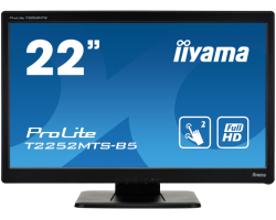 "IIYAMA 22"" ProLite T2252MTS-B5 (21.5"") Full HD Optical MultiTouch, 2ms, 250cd/m2, 1000:1, zvučnici, VGA/DVI/HDMI, crni"