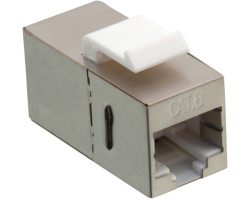 Roline VALUE RJ-45 Keystone Modular Coupler, Cat.6, STP, metalno kućište
