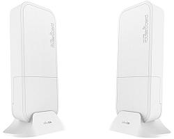 Mikrotik RBwAPG-60ad kit, Phase array 60° 60GHz antena, 802.11ad wireless, 716MHz CPU, 256MB RAM, 1×Gigabit LAN, RouterOS L3, POE, PSU