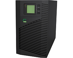 Elsist UPS Mission 1000VA/900W, On-line double conversion, DSP, surge protection, LCD