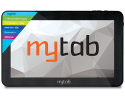"H18 My Tab M700K 7"" HD tablet, Quad Core 1.2GHz, 1GB/8GB, WiFi, crni + tipkovnica"