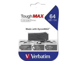 Verbatim USB2.0 ToughMAX 64GB, crni