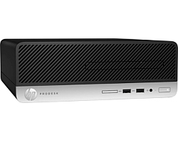 HP ProDesk 400 G4  SFF PC, Intel Core i3-7100, 4GB DDR4, 500GB HDD, Intel HD Graphics 630, DVD+/-RW, G-LAN, USB3.1/DP, Windows 10 Pro + tipkovnica/miš
