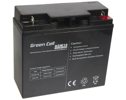 Green Cell (AGM10) baterija AGM 12V 20Ah