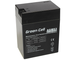 Green Cell (AGM03) baterija AGM 6V 14Ah