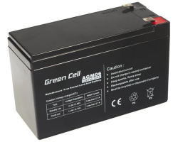 Green Cell (AGM06) baterija AGM 12V 9Ah
