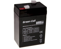 Green Cell (AGM11) baterija AGM 6V 5Ah