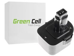 Green Cell (PT52) baterija 3000 mAh, DE9037 PS130 za DeWalt and Black&Decker 12V 3000 mAh