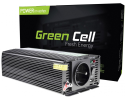 Green Cell strujni inverter 12V na 230V, 500W/1000W (INV03)