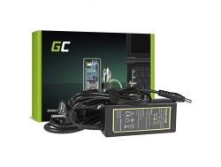 Green Cell (AD25) AC adapter 65W, 19V/3.42A, 5.5mm-2.5mm
