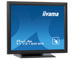 "IIYAMA 17"" ProLite T1731SR-B5 5:4 Resistive Touchscreen (1280×1024) LED, 5ms, 200cd/m2, 1000:1, zvučnici, VGA/HDMI/DP, RS232/USB, crni"