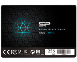 "Silicon Power 2.5"" A55 256GB SSD SATA3 3D NAND, R/W: 550/530MB/s"