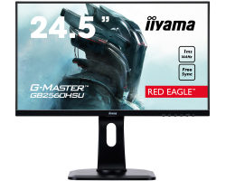 "IIYAMA 25"" G-Master Red Eagle GB2560HSU-B1 (24.5"") 16:9 Full HD (1920×1080) TN LED, Pivot, FreeSync, 144Hz, 1ms, 400cd/m2, HDMI/DP/HDCP, USB2.0×2, zvučnici, crni"