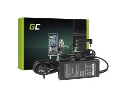 Green Cell (AD73) AC adapter 65W, 19V/3.42A, 3.0mm-1.1mm
