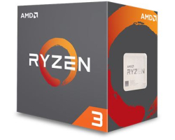 AMD Ryzen 3 1300X (3.5/3.7GHz boost), Socket AM4, 8MB cache, 65W