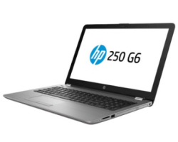 "HP 250 G6 15.6"" WLED FHD, Intel Core i3-7020U, 4GB DDR4, 1TB HDD, DVDRW, AMD Radeon 520, G-LAN, WiFi/BT, USB3.1/HDMI, FreeDOS, Silver"