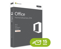 Microsoft Office 2016 Home & Bussines za MAC ESD elektronička licenca