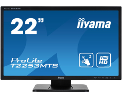 "IIYAMA 22"" ProLite T2253MTS-B1 (21.5"") Full HD (1920×1080) Optical DualTouch, 2ms, VGA/DVI/HDMI, zvučnici, crni"
