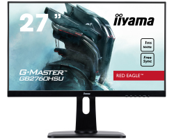 "IIYAMA 27"" G-Master Red Eagle GB2760HSU-B1, 16:9 Full HD (1920×1080) TN LED, Pivot, FreeSync, 144Hz, 1ms, 400cd/m2, HDMI/DP/HDCP, USB2.0×2, zvučnici, crni"