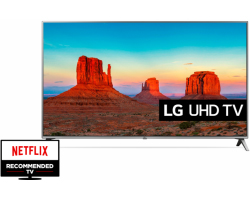 "LG 43"" (108cm) 43UK6500MLA UHD 4K Smart TV, DVB-T2/C/S2, CI+, WiFi/BT, 4×HDMI/2×USB, webOS 4.0, Ultra Surround"