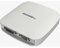Magewell XI104XUSB, USB3.0 BOX, 1-channel HD AND 4-channel SD, HDMI/DVI/VGA/YPbPr/CVBS, plus two unbalanced stereo audio, Windows Only (20111)