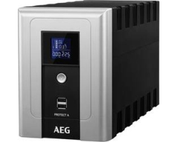 AEG UPS Protect A 1200VA/720W, Line-Interactive, AVR, Data line/network protection, USB/RS232