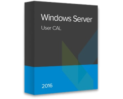 Microsoft Windows Server 2016 User CAL ESD elektronička licenca