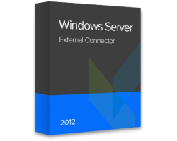 Microsoft Windows Server 2012 External Connector ESD elektronička licenca