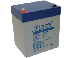 Ultracell (UL5-12) baterija AGM 12V 5Ah