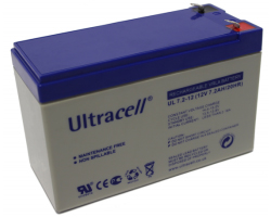 Ultracell (UL7.2-12) baterija AGM 12V 7.2Ah