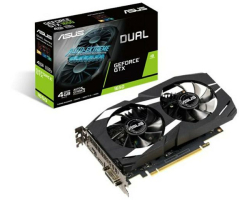 Asus GeForce GTX 1650 4GB GDDR5 Dual VGA, DVI-D/DP/HDMI