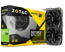 Zotac GeForce GTX 1060 3GB AMP Core Edition, DVI/DP/HDMI