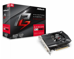 Asrock Radeon RX560 4GB Phantom Gaming, DVI/DP/HDMI