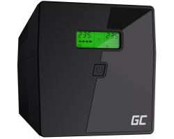 Green Cell UPS Microsine 1000VA/700W, Line Interactive Pure Sinewave, LCD